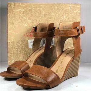 [174] American Rag 7 M Aislinn Wedge Sandals